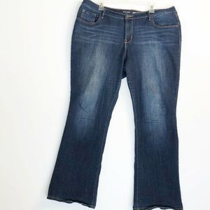 Old Navy Curvy Profile Mid Rise Jeans 18 Short